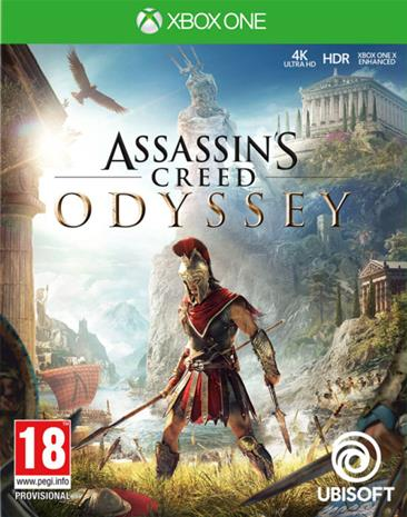 Assassin's Creed: Odyssey, Xbox One -peli