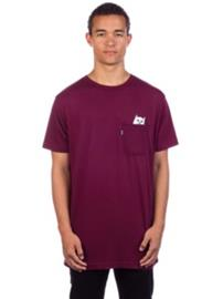 Rip N Dip Lord Nermal Pocket T-Shirt burgundy Miehet