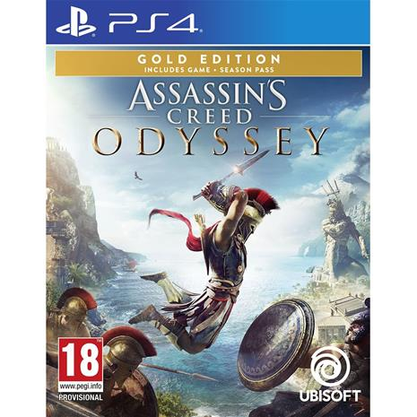 Assassin's Creed: Odyssey Gold Edition, PS4-peli