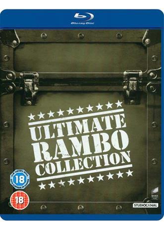 Ultimate Rambo Collection (Rambo 1-4, Blu-ray), elokuva
