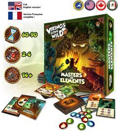 Vikings Gone Wild: Masters of Elements (lisäosa), lautapeli