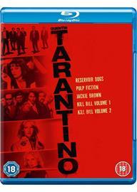 Quentin Tarantino Collection (Reservoir Dogs Pulp Fiction Jackie Brown Kill Bill Vol. 1 Kill Bill Vol. 2) (Blu-Ray), elokuva