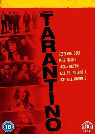 Quentin Tarantino Collection (Reservoir Dogs Pulp Fiction Jackie Brown Kill Bill Vol. 1 Kill Bill Vol. 2), elokuva