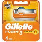 Gillette Fusion5 Power, vaihtoterät 4 kpl