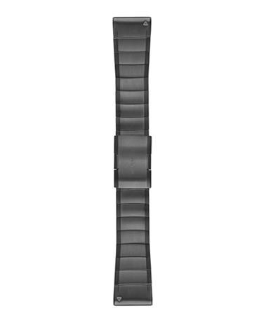 GARMIN QuickFit 26 Titanium - Kellon ranneke - Harmaa