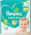 Pampers Baby-Dry S7 15+ kg 30 kpl teippivaippa