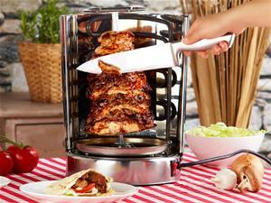 Kebab-grilli vartailla