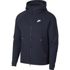 Nike Huppari NSW Tech Fleece - Navy/Valkoinen