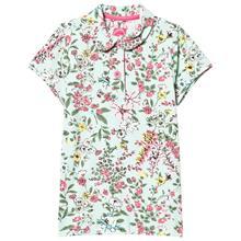 Green flowered t-shirt6 v
