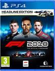 F1 2018, PS4 -peli