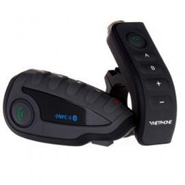 Intercom BT kypäräpuhelin 2MOTO V8 + kaukosäädin