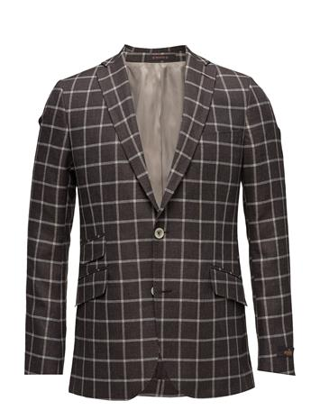 Morris Check Blazer BROWN