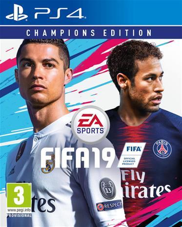 FIFA 19 Champions Edition, PS4-peli