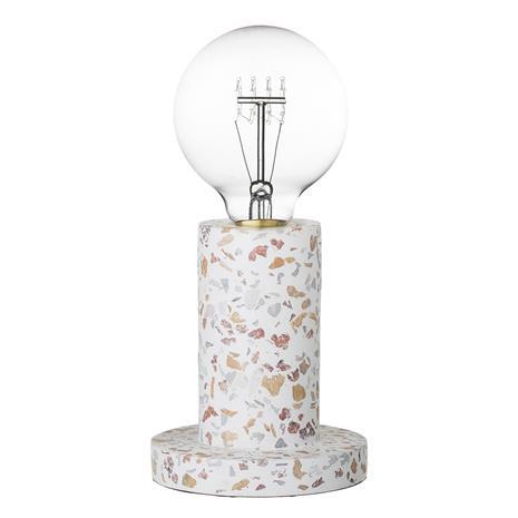 Pöytälamppu Cement Ø 12 cm - Natur, Koristeet