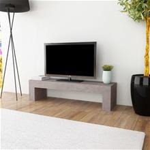 vidaXL TV-taso Betonityyli 120x30x30 cm