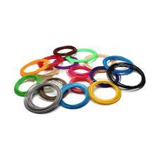 Tulostuslanka 3D Kynään - 10M 5-Pakkaus Musta/Valkoinen/Punainen/Sininen/Vihreä, PartyBalloonsAndDecor