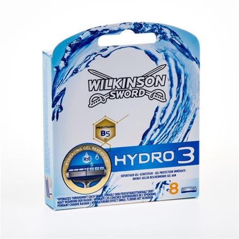 Wilkinson Hydro 3 razor blades 8 pc