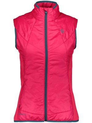 Scott Insuloft Light Vest hibiscus red Naiset