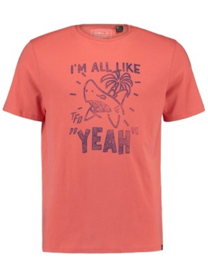 O'Neill Yeah T-Shirt burnt sienna Miehet