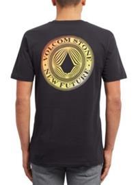 Volcom Volcomsphere Basic T-Shirt black Miehet