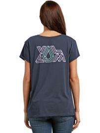 Volcom Radical Daze T-Shirt sea navy Naiset