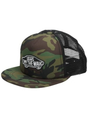 Vans Classic Patch Trucker Cap Youth classic camo