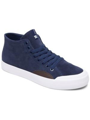 DC Evan HI Zero S Skate Shoes navy / dk chocolate Miehet