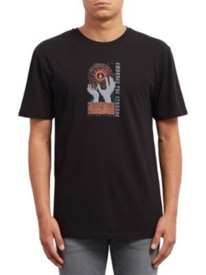 Volcom Extrano Dd T-Shirt black Miehet