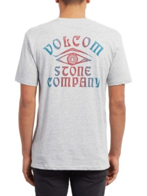Volcom Hyptonec Basic T-Shirt heather grey Miehet