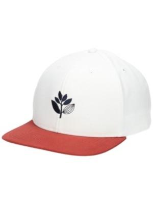 Magenta Snapback Cap white / red Miehet