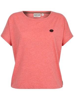 Naketano Schnella Baustella T-Shirt kinky red melange Naiset