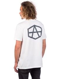 RVCA Reynolds Hex T-Shirt white Miehet