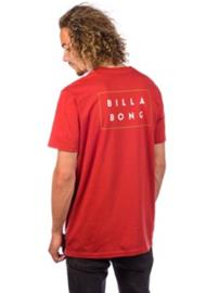 Billabong Die Cut T-Shirt rustic red Miehet