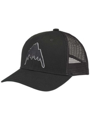 Burton Harwood Cap Youth true black
