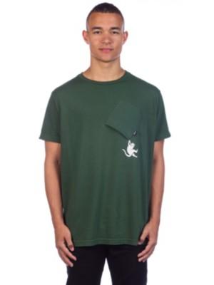 Rip N Dip Hang In There T-Shirt hunter green Miehet