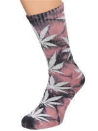 HUF Crystal Wash Plantlife Socks coral haze Miehet