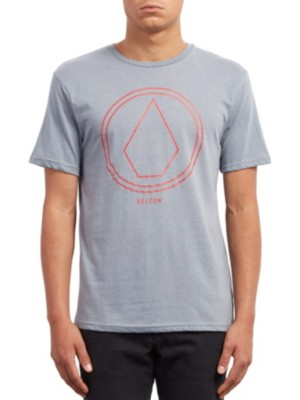 Volcom Pinline Stone Heather T-Shirt arctic blue Miehet