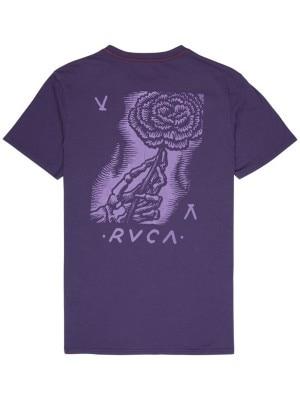 RVCA Women'S Day T-Shirt dark purple Miehet