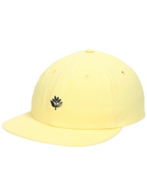 Magenta 6 Panel Cap yellow Miehet