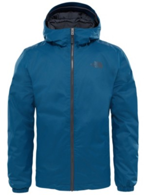 THE NORTH FACE Quest Insulated Outdoor Jacket monterey blue blck heathr Miehet
