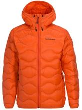 Peak Performance Helium Hood Outdoor Jacket orange flow Miehet