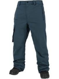 Volcom Ventral Pants snow vintage navy Miehet