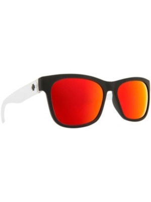 Spy Sundowner Matte Black/Matte Crystal gray w / red spectra Miehet