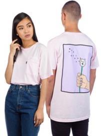 Rip N Dip Blow Me T-Shirt pink / mineral wash Miehet