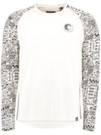 O'Neill Heritage Printed T-Shirt LS powder white Miehet