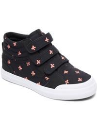 DC Evan HI V SP Sneakers Girls black / pink Tytöt
