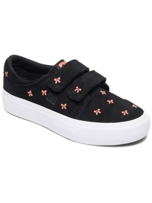 DC Trase V SE Sneakers Girls black / pink Tytöt