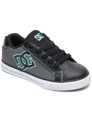 DC Chelsea Sneakers Girls black / aqua Tytöt