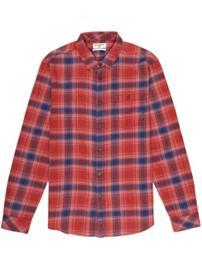 Billabong Fremont Flannel Shirt LS red Miehet