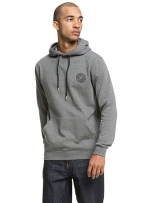 DC Rebel Hoodie charcoal heather Miehet